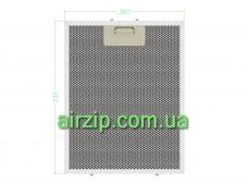 Фільтр для витяжки 262 x 335 mm