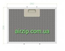 Фільтр для витяжки 282 x 208 mm