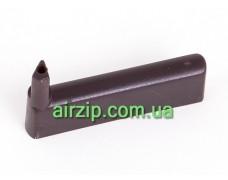Тримач декоративного скла WH 22 60 коричневий правий