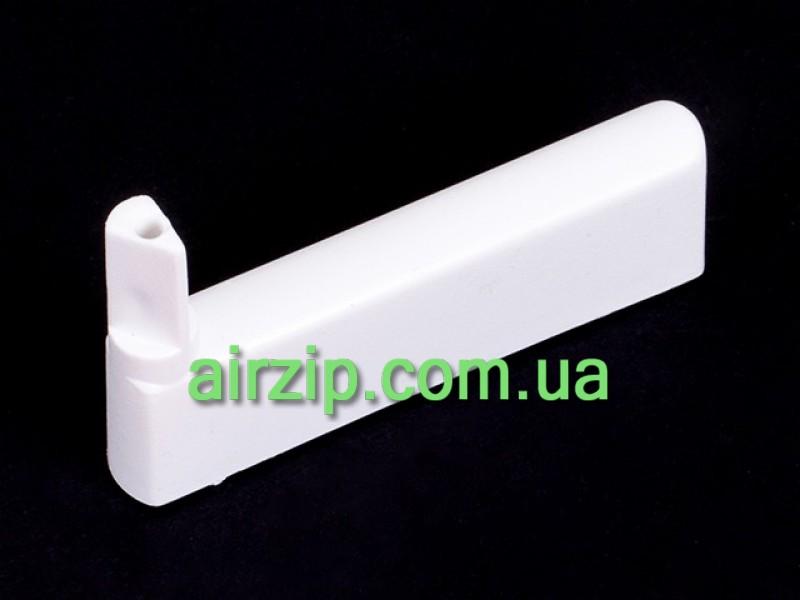 Тримач декоративного скла білий лівий WH 22 60(50 мм)