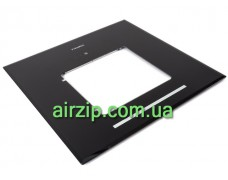 Скло декоративне HES 30 (D600) чорне
