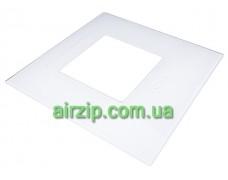 Скло декоративне HES30 (D600) B біле