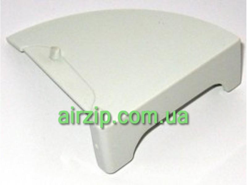 Тримач декоративного скла F-2060 SLIM правий (білий)