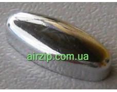 Накладка на кнопку BETA silver