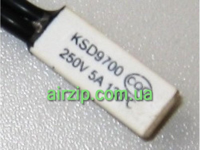 Термозахист мотора KSD9700 (250V,5A,130C°) пластик.