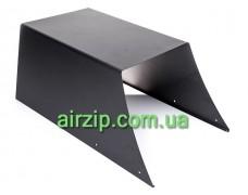 Короб декоративний нижній RA 60/90 (чорний)